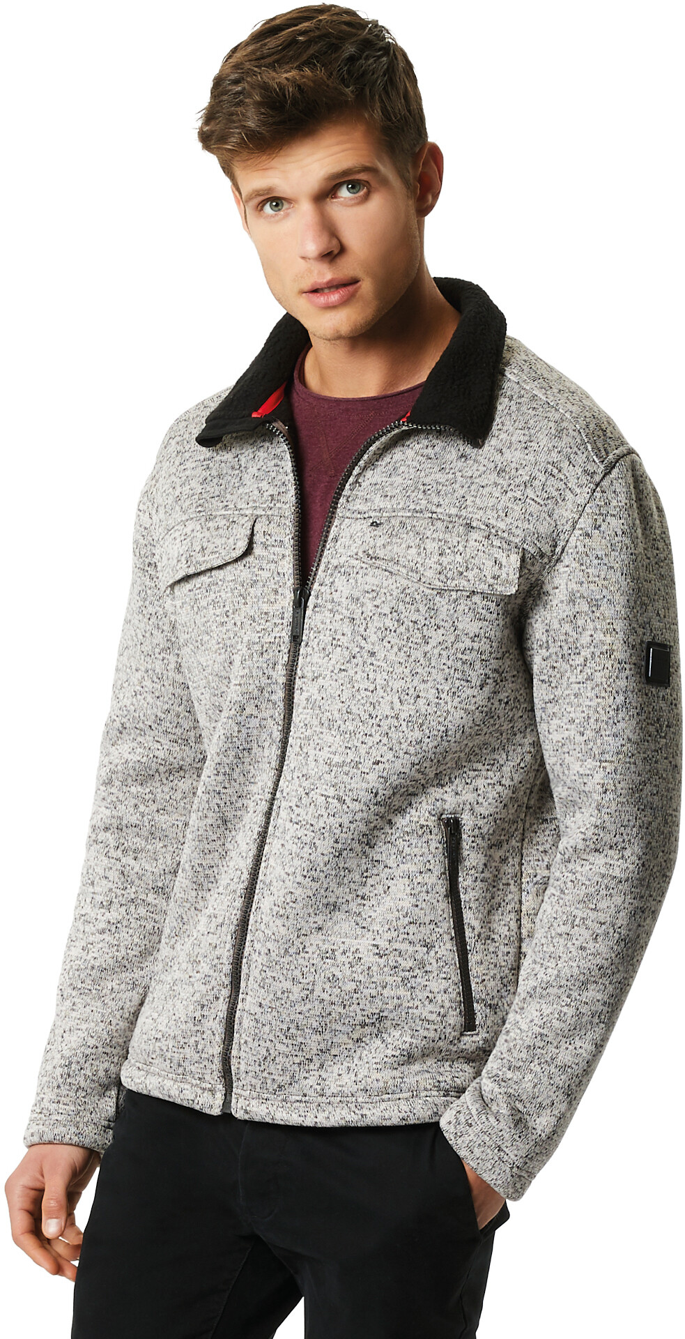 777701b4d0a Regatta Pagiel Jacket Men grey at Addnature.co.uk
